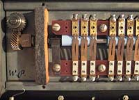 Picture of the vibrato chorus switch box