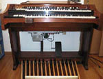 Picture of a 1959 Hammond A-100 chop